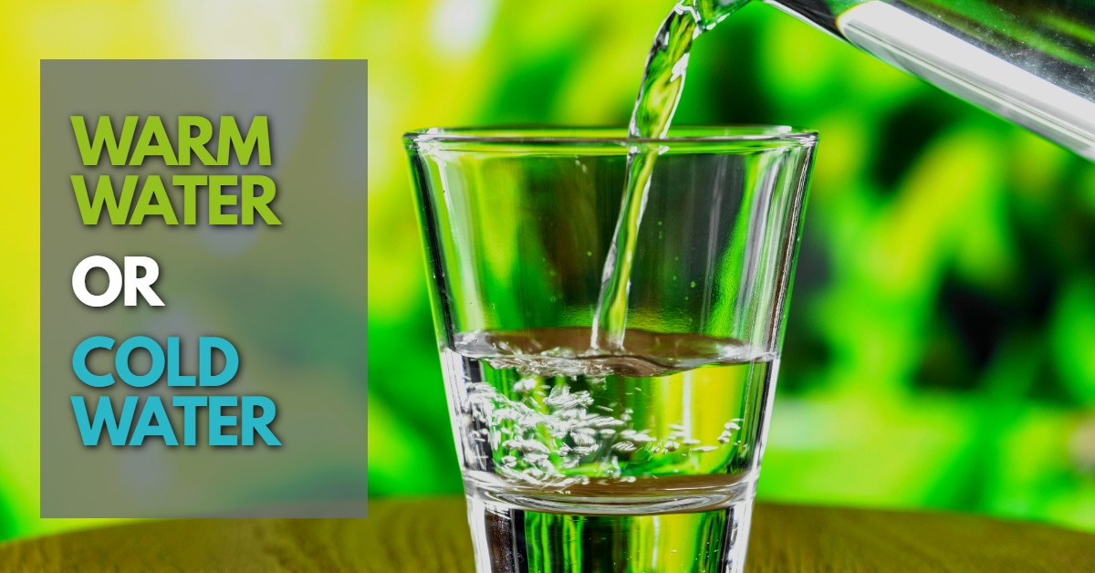 comparing hot and cold drinking water